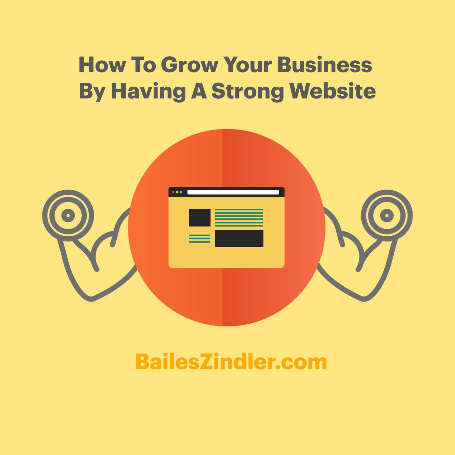 How To Grow Your Business By Having A Strong Website