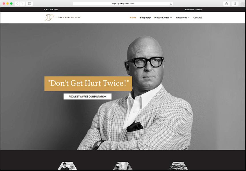 j chad parker website