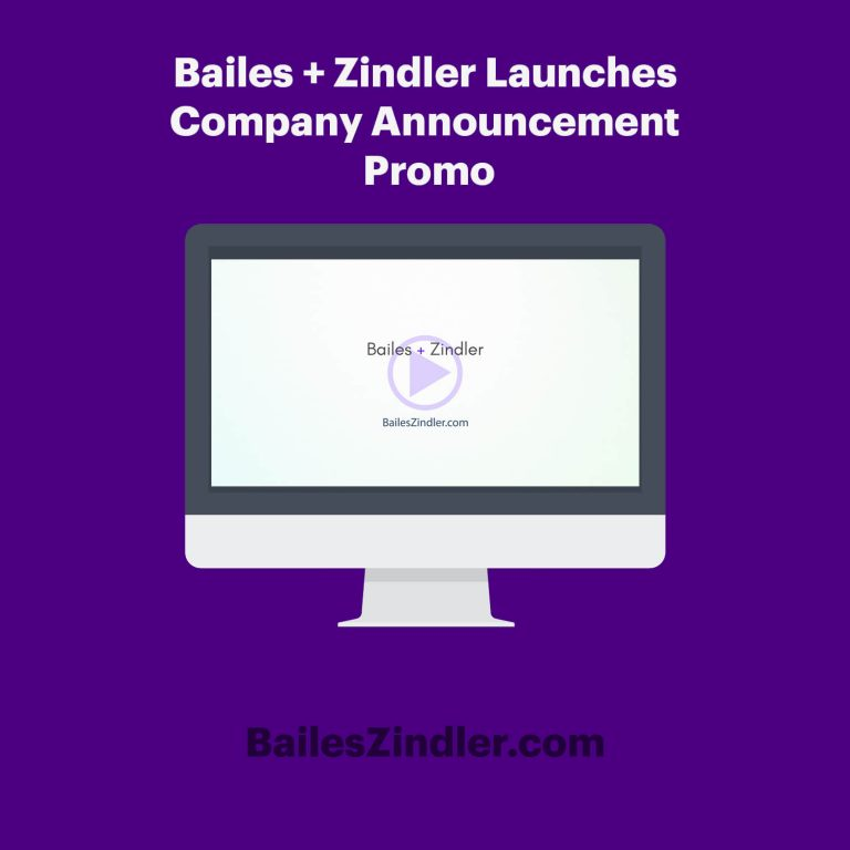 Bailes + Zindler company announcement video featured image