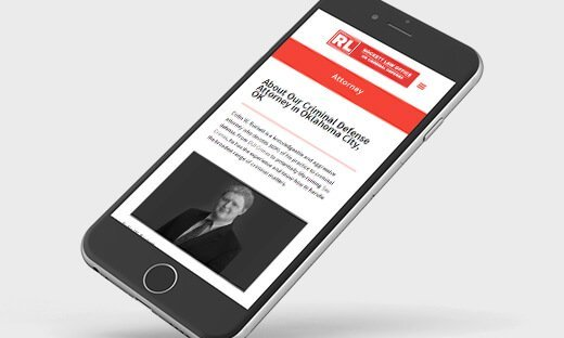 tyler, tx attorney website design