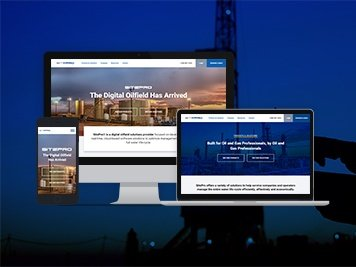 oil and gas website design tyler tx