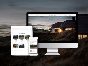 real estate website design tyler tx